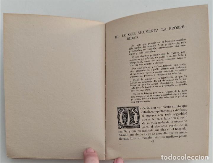 Libros antiguos: EL CAMINO DE LA PROSPERIDAD - ORISON SWETT MARDEN - ANTONIO ROCH EDITOR - BARCELONA - Foto 8 - 270516373