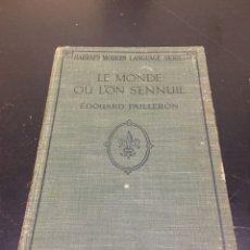 Livros antigos: CURIOSO LIBRO PROCEDENTE DE LA BIBLIOTECA DE MARÍA BEATRIZ DEL VALLE-INCLÁN Y SU MARIDO DANIEL DEVOT. Lote 270636608