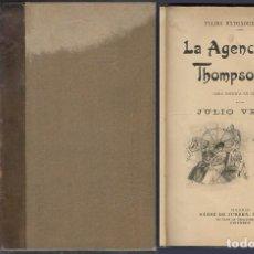 Libros antiguos: OBRAS DE JULIO VERNE. TOMO 15. (VER DESCRIPCION). - A-INCOMP-456. Lote 270639383