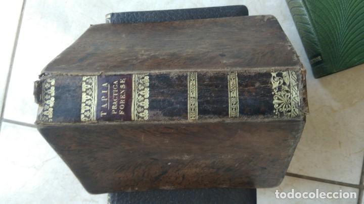 Libros antiguos: Manual de la práctica forense eugenio tapia 1832 - Foto 3 - 270682893