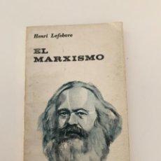 Libros antiguos: HENRI LEFEBVRE EL MARXISMO - EDITORIAL UNIVERSITARIA DE BUENOS AIRES 1973. Lote 270902748