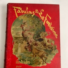 Libros antiguos: L-825. FABULAS DE LA FONTAINE, ILUSTRADAS POR GUSTAVO DORE TRAD. TEODORO LLORENTE 1885.. Lote 270909253