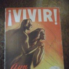 Libros antiguos: VIVIR LIBRO DE PRINCIPIOS SIGLO XX. Lote 270924028