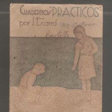 Libros antiguos: 1 CUADERNO PRATICOS MATEMATICA ANTIGUO. Lote 270948893