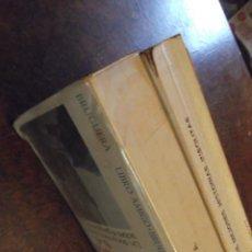 Libros antiguos: LOTE DE LIBROS 2 DE MEDIADOS DEL SIGLO XX. Lote 270971203