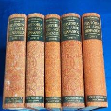 Libros antiguos: HISTORIA DEL ARTE HISPÁNICO. MARQUÉS DE LOZOYA. SALVAT. 5 TOMOS.BARCELONA, 1931-49. PAGS: 380. Lote 271033998