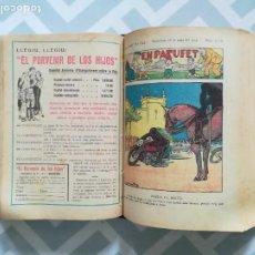 Libros antiguos: EN PATUFET, COMIC ENCUADERNADO COMPLETO DEL AÑO 1935. PÁGINAS: 1664 - PJRB. Lote 270975558