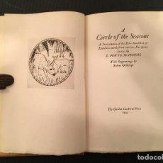 Libros antiguos: BIBLIOFILIA ROBERT GIBBINGS KALIDASA GRABADOS GOLDEN COCKEREL PRESS 1929 EDICION LIMITADA NUMERADA. Lote 271059658