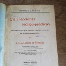 Libros antiguos: MÉTODO LANCOME. Lote 271117758