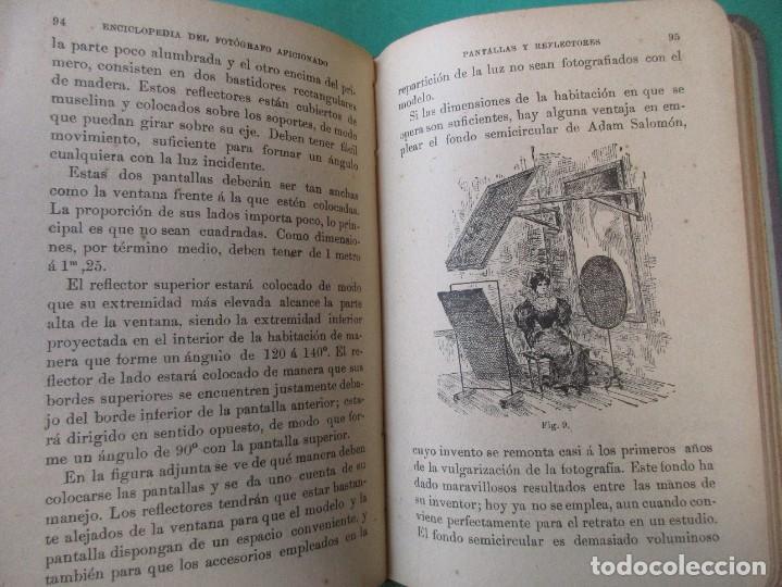 Libros antiguos: ENCICLOPEDIA DEL FOTÓGRAFO AFICIONADO.LOS RETRATOS EN LAS HABITACIONES.CIRCA 1910.167 PÁG.ILUSTRACIO - Foto 3 - 271356513