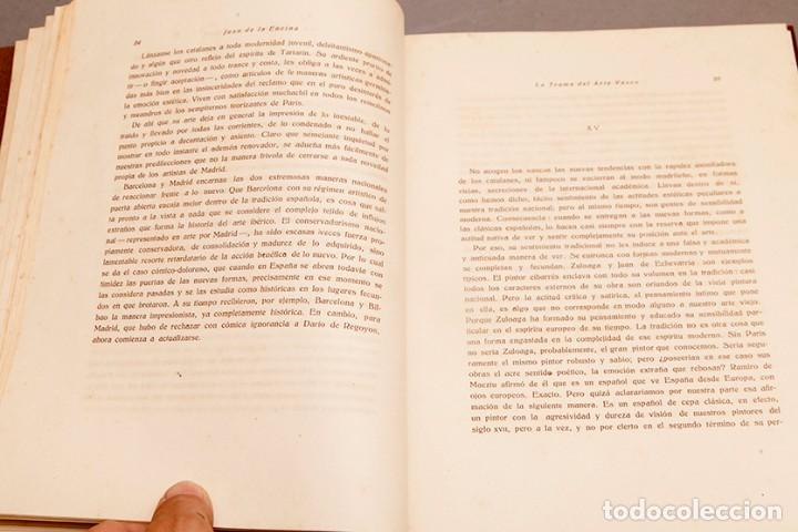 Libros antiguos: JUAN DE LA ENCINA : LA TRAMA DEL ARTE VASCO - 1ª PRIMERA EDICIÓN - 1920 BILBAO - Foto 7 - 271360738