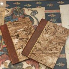 Libros antiguos: LOTE DE DOS CARPETAS CON DOCUMENTOS RELATIVOS DE VECINOS DE LA CIUDAD DE SANTANDER. Lote 271625308
