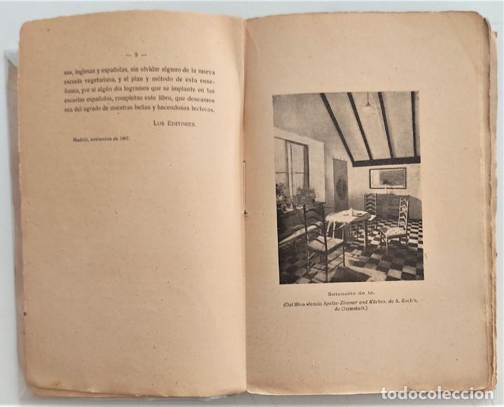 Libros antiguos: LA COCINA DE LA MADRE DE FAMILIA - MATILDE GARCÍA DEL REAL - SEGUNDA EDICIÓN - AÑO 1922 - Foto 4 - 272234988