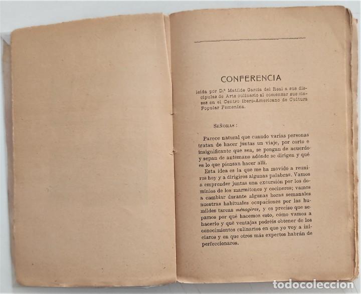 Libros antiguos: LA COCINA DE LA MADRE DE FAMILIA - MATILDE GARCÍA DEL REAL - SEGUNDA EDICIÓN - AÑO 1922 - Foto 5 - 272234988