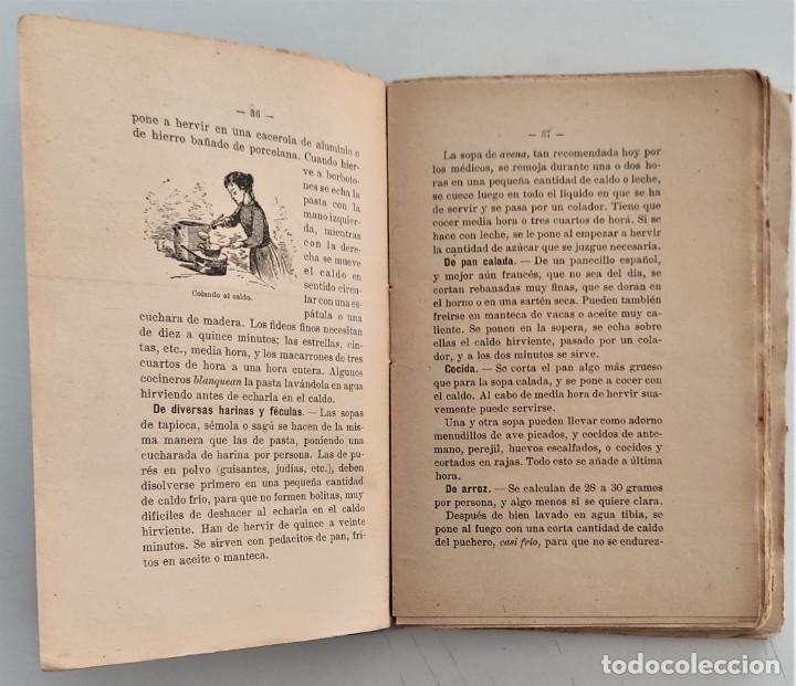 Libros antiguos: LA COCINA DE LA MADRE DE FAMILIA - MATILDE GARCÍA DEL REAL - SEGUNDA EDICIÓN - AÑO 1922 - Foto 6 - 272234988