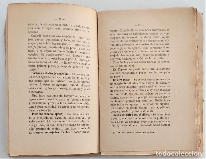 Libros antiguos: LA COCINA DE LA MADRE DE FAMILIA - MATILDE GARCÍA DEL REAL - SEGUNDA EDICIÓN - AÑO 1922 - Foto 7 - 272234988