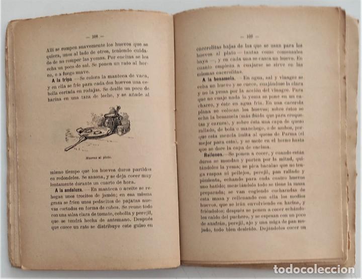 Libros antiguos: LA COCINA DE LA MADRE DE FAMILIA - MATILDE GARCÍA DEL REAL - SEGUNDA EDICIÓN - AÑO 1922 - Foto 8 - 272234988