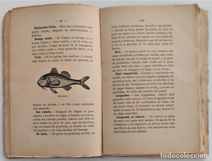 Libros antiguos: LA COCINA DE LA MADRE DE FAMILIA - MATILDE GARCÍA DEL REAL - SEGUNDA EDICIÓN - AÑO 1922 - Foto 9 - 272234988