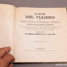 Libros antiguos: ÁLBUM DEL VIAJERO POR EL FERRO - CARRIL FERROCARRIL DE CÓRDOBA Á SEVILLA - 1861 - RARÍSIMO. Lote 272377378