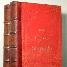 Libros antiguos: GARCIA MALO, IGNACIO - DEL BUSTO, GENARO W. - LA VOZ DE LA NATURALEZA (2 VOL.- COMPLETO) - BARCELONA. Lote 272420698