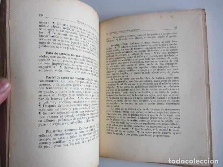 Libros antiguos: El Amparo. Sus platos clásicos. Bilbao 1930 Segunda edición. Gastronomia vasca. - Foto 7 - 272681443