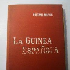 Libros antiguos: LA GUINEA ESPAÑOLA. MANUALES SOLER N° 17. RICARDO BELTRÁN Y ROZPIDE. Lote 272713178