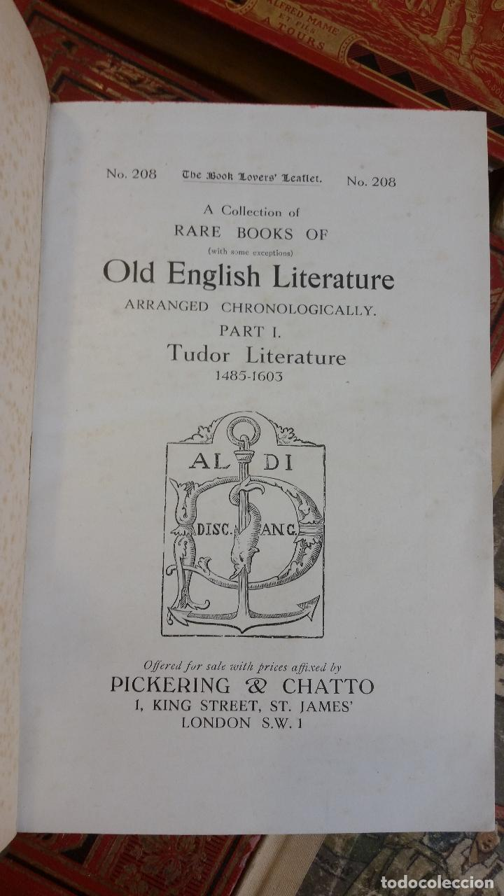 Libros antiguos: A Collection of Rare Books of (with some exceptions) Old English Literature - 13 números - Foto 4 - 272908223