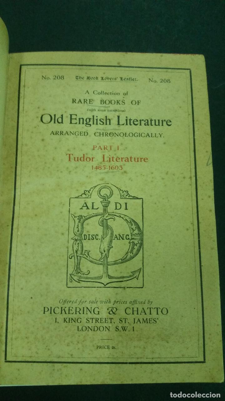 Libros antiguos: A Collection of Rare Books of (with some exceptions) Old English Literature - 13 números - Foto 5 - 272908223