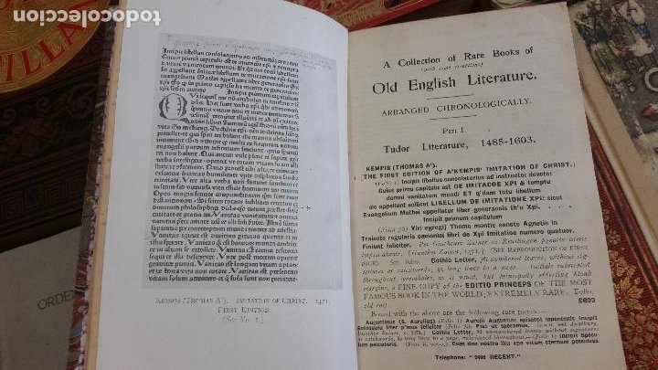 Libros antiguos: A Collection of Rare Books of (with some exceptions) Old English Literature - 13 números - Foto 9 - 272908223