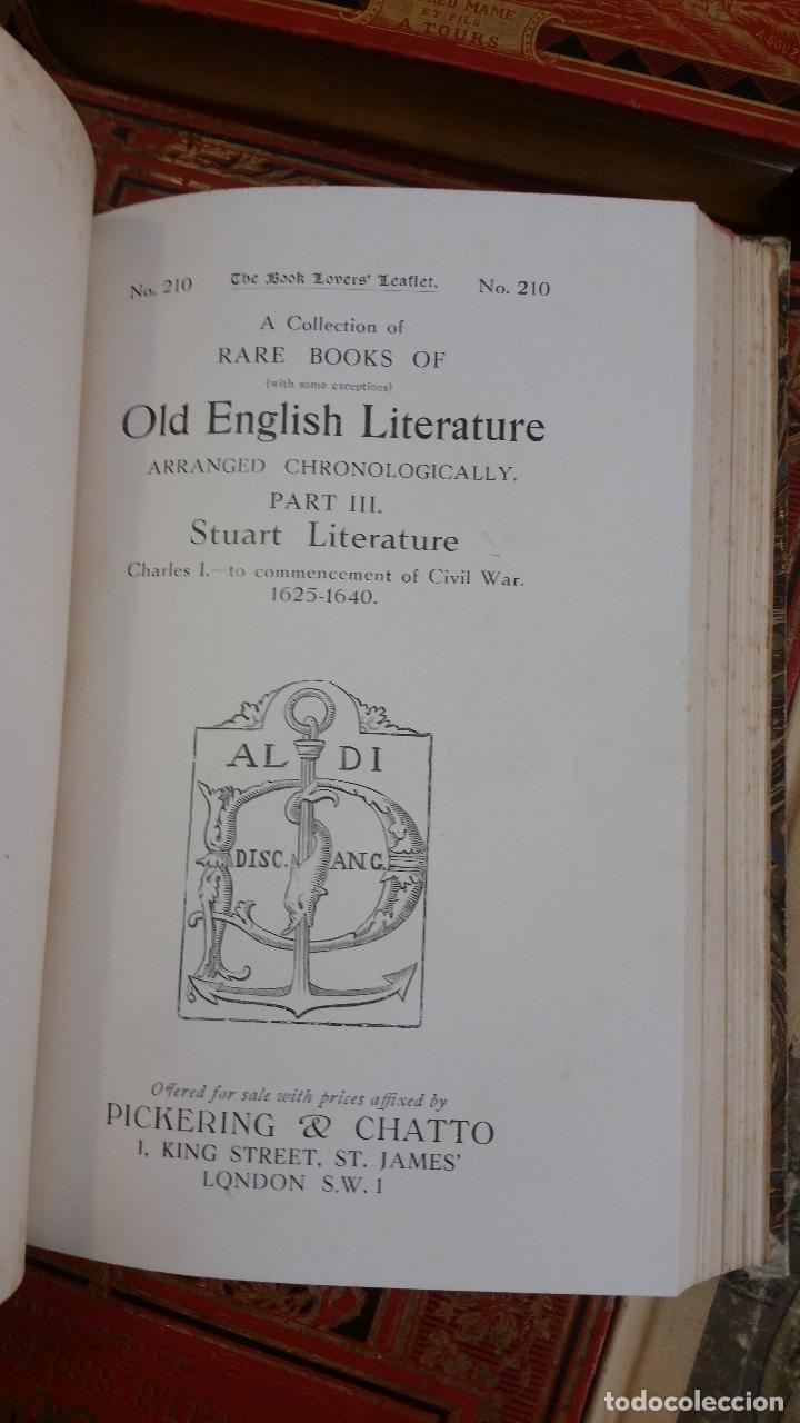 Libros antiguos: A Collection of Rare Books of (with some exceptions) Old English Literature - 13 números - Foto 13 - 272908223