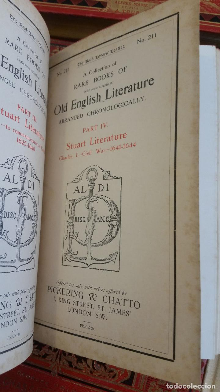 Libros antiguos: A Collection of Rare Books of (with some exceptions) Old English Literature - 13 números - Foto 14 - 272908223