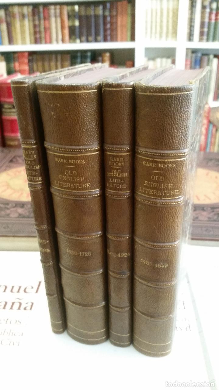 A COLLECTION OF RARE BOOKS OF (WITH SOME EXCEPTIONS) OLD ENGLISH LITERATURE - 13 NÚMEROS (Libros Antiguos, Raros y Curiosos - Otros Idiomas)