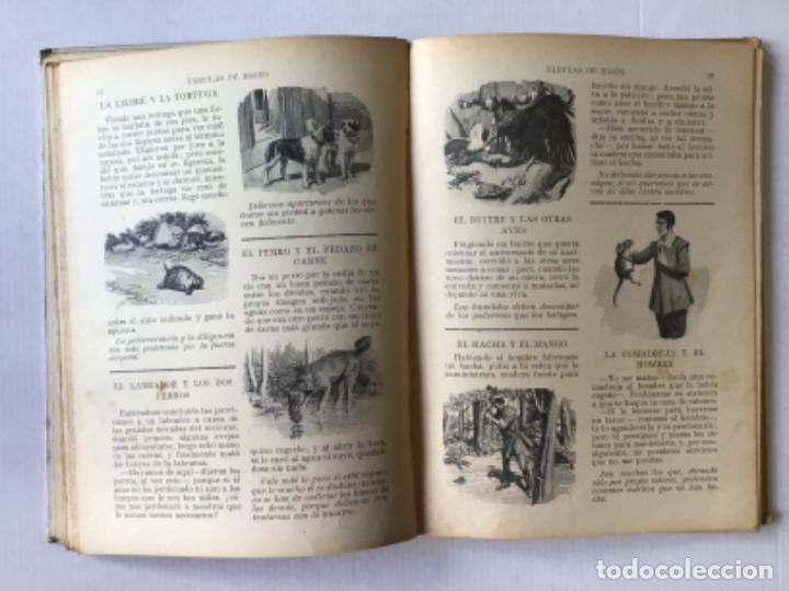 Libros antiguos: FABULAS DE ESOPO. - ESOPO. - Foto 3 - 273105093