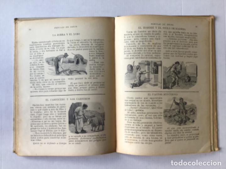 Libros antiguos: FABULAS DE ESOPO. - ESOPO. - Foto 4 - 273105093