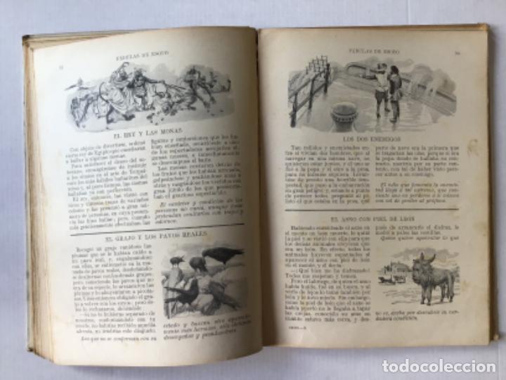 Libros antiguos: FABULAS DE ESOPO. - ESOPO. - Foto 5 - 273105093