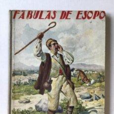 Libros antiguos: FABULAS DE ESOPO. - ESOPO.. Lote 273105093