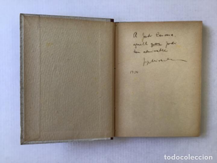 Libros antiguos: EN VALENTÍ I LA CRISTETA. LES CALÇES DEL MENUT. - MIRACLE, Josep. DEDICAT. - Foto 2 - 123219211