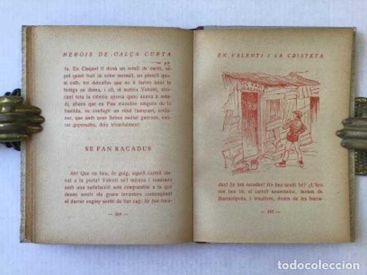 Libros antiguos: EN VALENTÍ I LA CRISTETA. LES CALÇES DEL MENUT. - MIRACLE, Josep. DEDICAT. - Foto 5 - 123219211