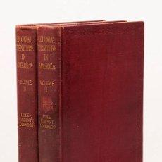 Libros antiguos: LUKE VINCENT LOCKWOOD - COLONIAL FURNITURE IN AMERICA - 1926. Lote 273298233