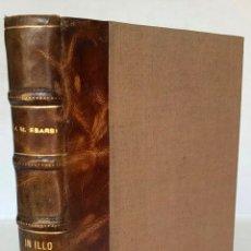 Libros antiguos: IN ILLO TEMPORE, Y OTRAS FRIOLERAS. BOSQUEJO CERVÁNTICO Ó PASATIEMPO QUIJOTESCO POR TODOS CUATRO COS. Lote 123246395