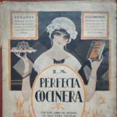 Libros antiguos: LA PERFECTA COCINERA, TOMO II (ED. PAEZ, AÑOS 30) /// COCINA GASTRONOMÍA AMA DE CASA PESCADOS CARNES. Lote 274239133