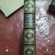 Livres anciens: LE STATUAIRE, J.B CARPEAUX 1880. Lote 274540993