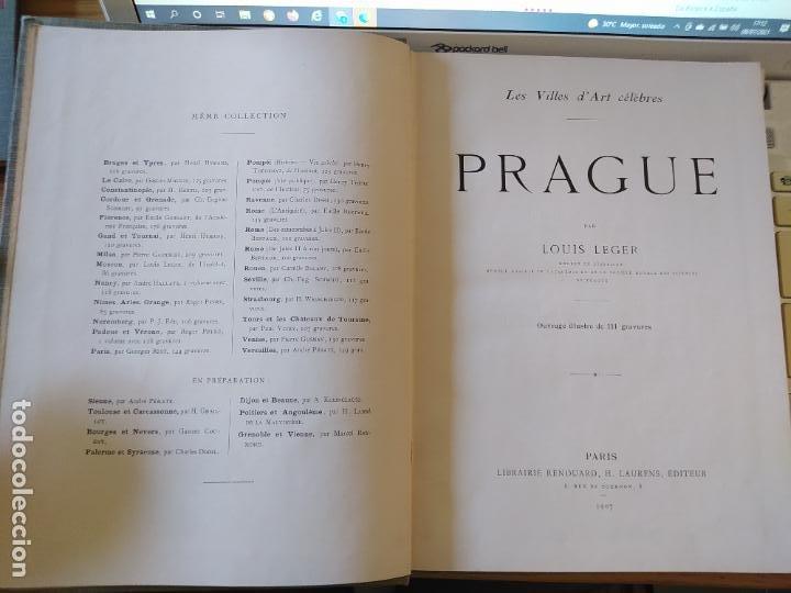 Libros antiguos: Les Villes d Art Célèbres - Prague Louis Leger Librairie Renouard / Henri Laurens, Paris, 1907 - Foto 6 - 274597533