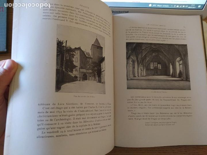 Libros antiguos: Les Villes d Art Célèbres - Prague Louis Leger Librairie Renouard / Henri Laurens, Paris, 1907 - Foto 14 - 274597533