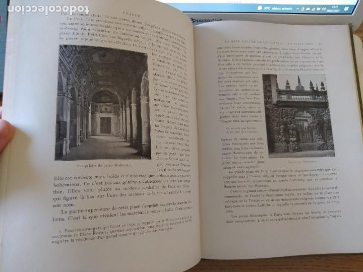 Libros antiguos: Les Villes d Art Célèbres - Prague Louis Leger Librairie Renouard / Henri Laurens, Paris, 1907 - Foto 16 - 274597533