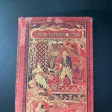 Libros antiguos: VIAJES EXTRAORDINARIOS. N. MENDEZ BRINCAS Y M. ANGEL. MADRID, 1894. PAGS: 146. Lote 274672698