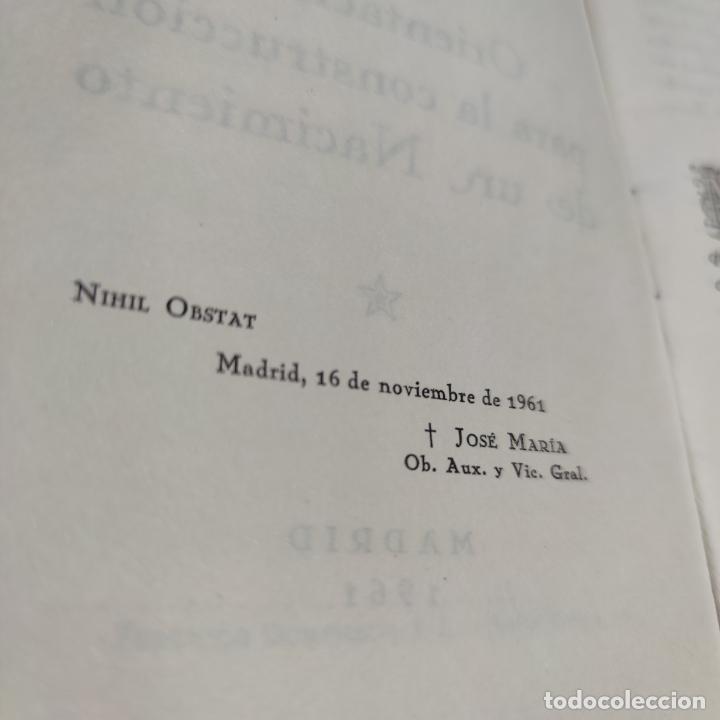Libros antiguos: Orientaciones para la construcción de un Nacimiento. José Palacios Sanz. Madrid. 1961. - Foto 5 - 274687908