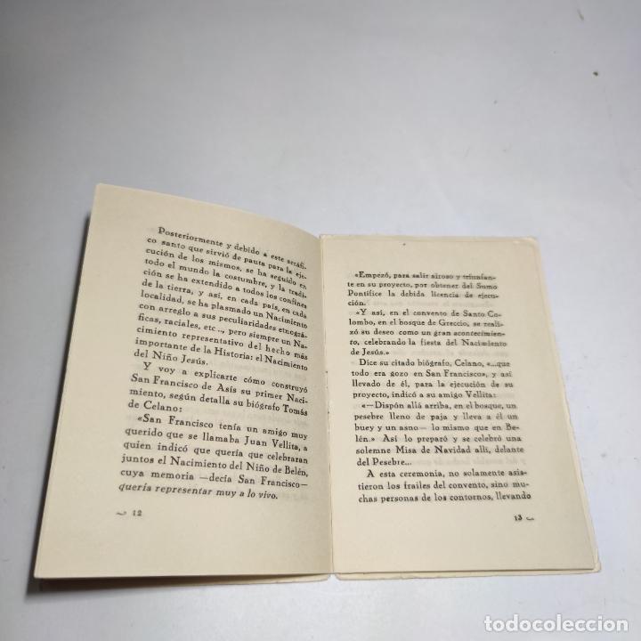 Libros antiguos: Orientaciones para la construcción de un Nacimiento. José Palacios Sanz. Madrid. 1961. - Foto 6 - 274687908