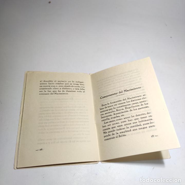 Libros antiguos: Orientaciones para la construcción de un Nacimiento. José Palacios Sanz. Madrid. 1961. - Foto 7 - 274687908