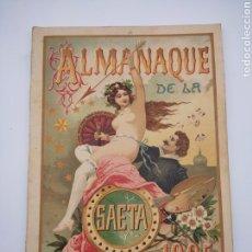 Libros antiguos: ALMANAQUE ERÓTICO LA SAETA AÑO 1905. Lote 275121648